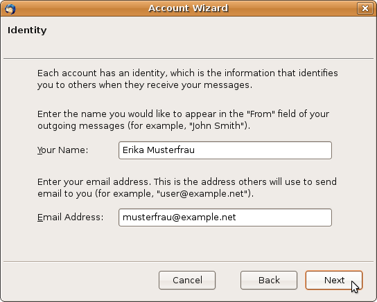 thunderbird how to change the default address book that opens