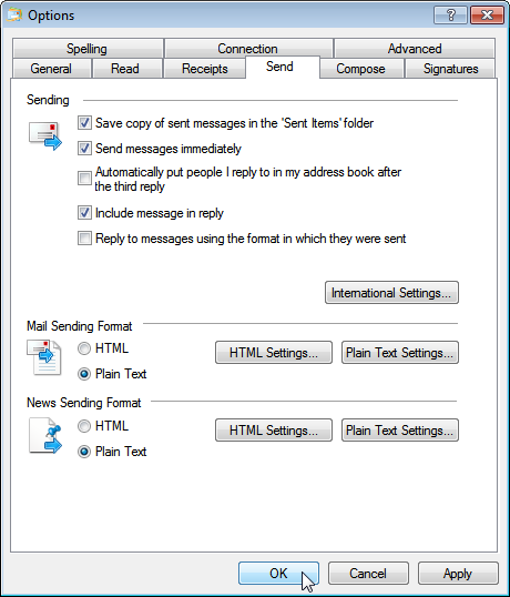 how to turn on predictive text in windows live mail